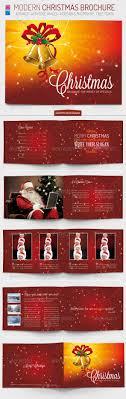 christmas brochure template by foos graphicriver christmas brochure template brochures print templates