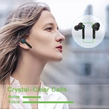 <b>Wireless Earbuds</b> Active Noise Cancelling, [Upgrade]Bluetooth V5.0 ...
