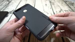 Spigen Rugged Armor <b>Huawei Honor</b> 7X <b>Case</b> Unboxing and Review