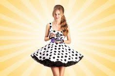 Stock Photo in 2019 | Pinup shoot ideas | Polka dot <b>summer dresses</b> ...