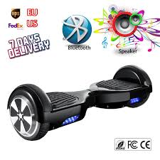 Black Hoover Board Bluetooth <b>Electric</b> Self Balancing <b>Scooter Mini</b> ...