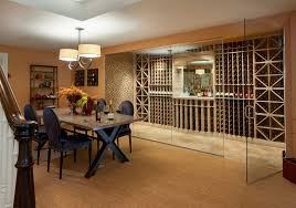 basement wine cellar and dining room basement wine cellar idea