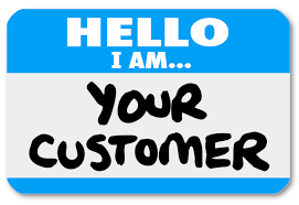 bb marketing communication strategiesv archives a blue tag sticker words hello i am your customer to re