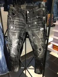 <b>Джинсы</b> прямого кроя с принтом и потертостями | DSQ | <b>Jeans</b> ...