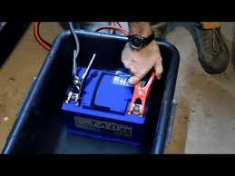 Аккумулятор <b>TAB</b> из-под воды заводит двигатель Nissan X-Trail ...