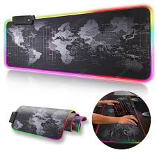 Gaming Mouse Pad RGB Mouse Pad Gamer Computer Mousepad ...