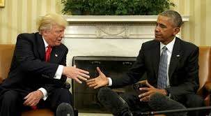 us president barack obama meets with president elect donald trump in the oval office of barack obama enters oval