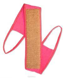 """<b>Мочалка Eva</b> """"<b>Ladies</b>"""", с ручками, цвет: розовый, 9 х <b>72</b> см ..."""