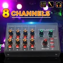 8 каналов студийная фото аудио <b>DJ микшерный пульт</b> ...
