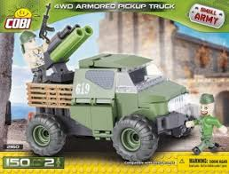 "Пластиковый <b>конструктор COBI</b> ""<b>Армейский пикап</b> Armored ..."