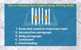 toptips to enhance your english essay writing skills