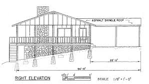 Ranch House Plan Design Right View Bedroom Ranch Style House    ranch house plan design right view