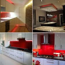 red led strip light kitchen set buy kitchen lighting