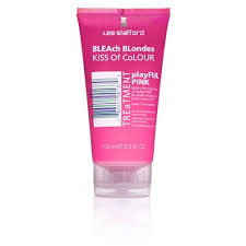 <b>Lee Stafford Bleach Blondes</b> Pink Kiss of Colour Treatment 150ml ...