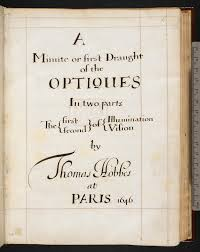 thomas hobbes on optics online medieval manuscripts blog harley ms 3360 f001r