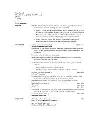 resume for driver s driver lewesmr sample resume how prepare a resume for driver