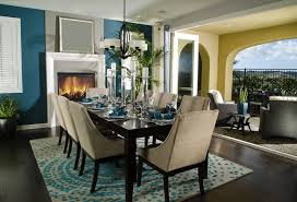 circle kitchen table beautiful design picture semi dining area in open living space with blue and beige color scheme set