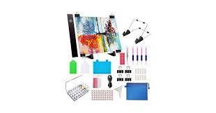 59 Pcs <b>Diamond Painting A4 LED</b> Light Pad Kit, <b>Diamond Art</b> Light ...