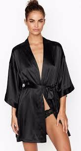 <b>victoria's secret very sexy</b> short satin kimono size m/l new