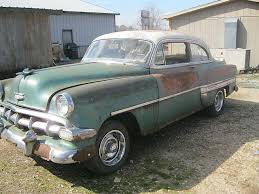 Image result for 1954 chevy 4 door sedan for sale