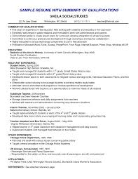 resume skills summary examples good of qualifications for resume cover letter resume skills summary examples good of qualifications for resume e d best resumeresume skills summary