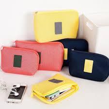 Earphone Digital <b>Gadget Cable</b> Charger Travel <b>Storage</b> Bag USB ...