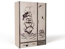 <b>Шкаф ABC</b>-<b>King</b> 3-х дверный Pirat - Акушерство.Ru
