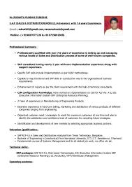 susanta s subudhi resume years experience pdf format