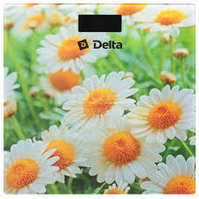 <b>Весы напольные Delta</b> Ромашковое поле <b>D</b>-<b>9220</b> до 150 кг в ...