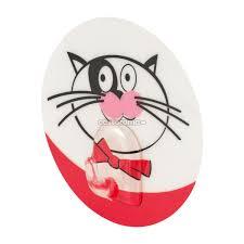 <b>Крючок</b> адгезивный <b>Tatkraft</b> 18204 <b>Funny Cats</b> разноцветный, 1 шт.