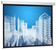 Купить Рулонный матовый белый <b>экран</b> cactus Wallscreen CS ...