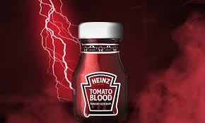 Heinz launches limited-edition 'TOMATO <b>BLOOD</b>' ketchup for ...
