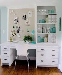 home office chic organized home office