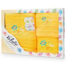 Для детей : Комплект <b>полотенец</b> Junior <b>Flower</b>