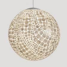 white capiz shell chandelier capiz shell lighting fixtures