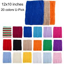 <b>1pc Crochet tube top</b> tutu top 12inch Large size crochet headband ...