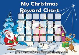 reward charts christmas reward chart