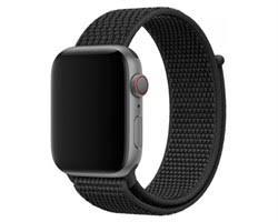 Ремешок <b>WOLT</b> WT-AWS-SP42 Black для <b>Apple</b> Watch 42/44mm