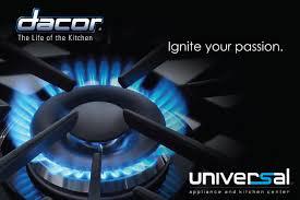 Universal Kitchen Appliances Dacor Gas Cooktop Dacor Distinctive Gas Cooktop Dacor Cooktop