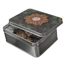 Abloom in Autumn Leaves with Faded Fractal <b>Flowers Jigsaw</b> ...