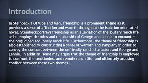 of mice and men theme essay friendship   pdfeports   web fc  comof mice and men theme essay friendship
