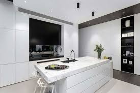 black and white furniture in the modern kitchen black and white furniture
