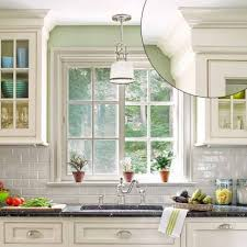 kitchen moldings: uncrowded crown style  crown molding  uncrowded crown style