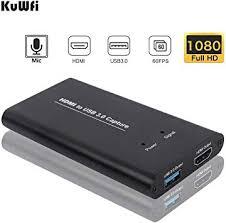 Mini USB 2.0 Port <b>HDMI</b> 60fps <b>HD Video</b> Game Capture TV Tuner ...