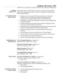sample nursing resume one year experience cipanewsletter professional nurse resume nursing resume samples nursing resume