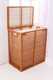 hamper clothes bamboo modern bamboo hamper by inthispace on etsy