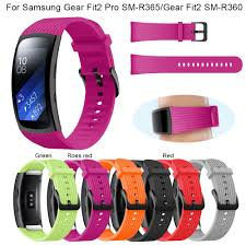 <b>Replacement Silicone Wrist</b> Strap Band Bracelet For Samsung Gear ...
