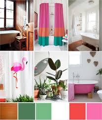 bathroom refresh:  tropical bathroom inspiration board