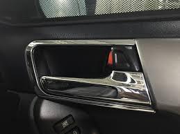 <b>Накладки на салонные ручки</b> — Toyota Land Cruiser Prado, 2.7 л ...