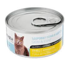 ZooMix <b>1stCHOICE Консервы</b> для взрослых кошек, тунец с ...